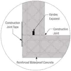 Basement construction joints