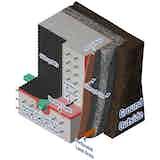 Basement waterproofing internally and externally