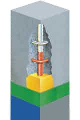 The Vandex CRS Concrete Repair System
