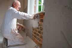 Dryzone Damp-Resistant Plaster application