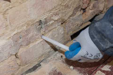 Dryrod Damp Proof Course Installation