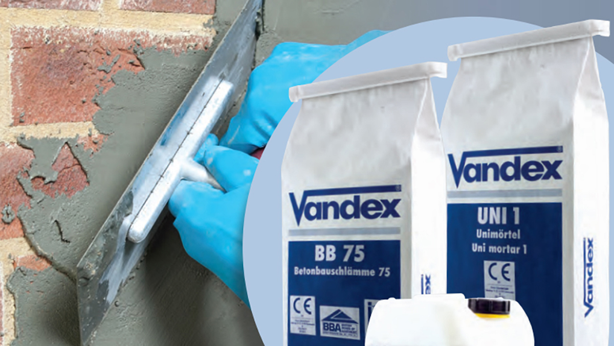 Vandex Basement Tanking System