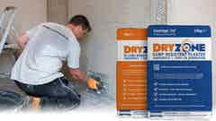 New Damp-Resistant Plasters Complete the Dryzone System Range
