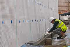 Linking Type A to Type C waterproofing system