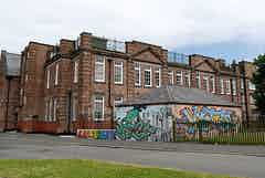 Toxteth TV building in Liverpool, UK