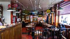Inside The Star Café in Soho