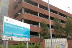 Multi-storey car park of Belfast City Hospital