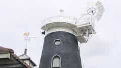 Oldroyd and Dryzone waterproof a Grade II* listed windmill in Reigate