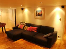 Domestic basement conversion