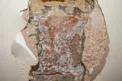 An example of rising damp