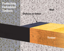 Protecting embedded timbers