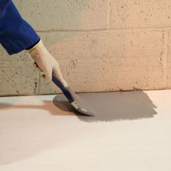 Application of ECS Epoxy Coating by brush