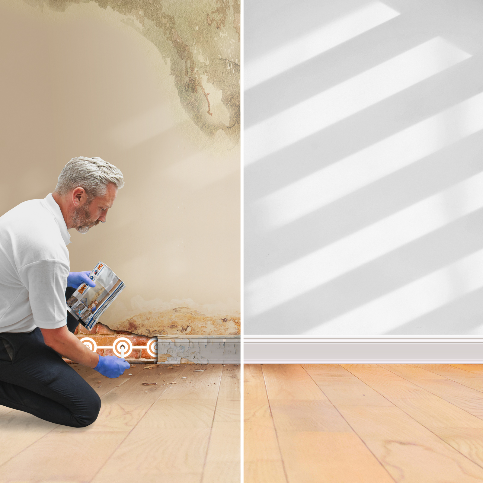 Basement Floor Is Damp: Damp-proofing And Waterproofing