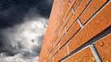 Rain penetration through masonry