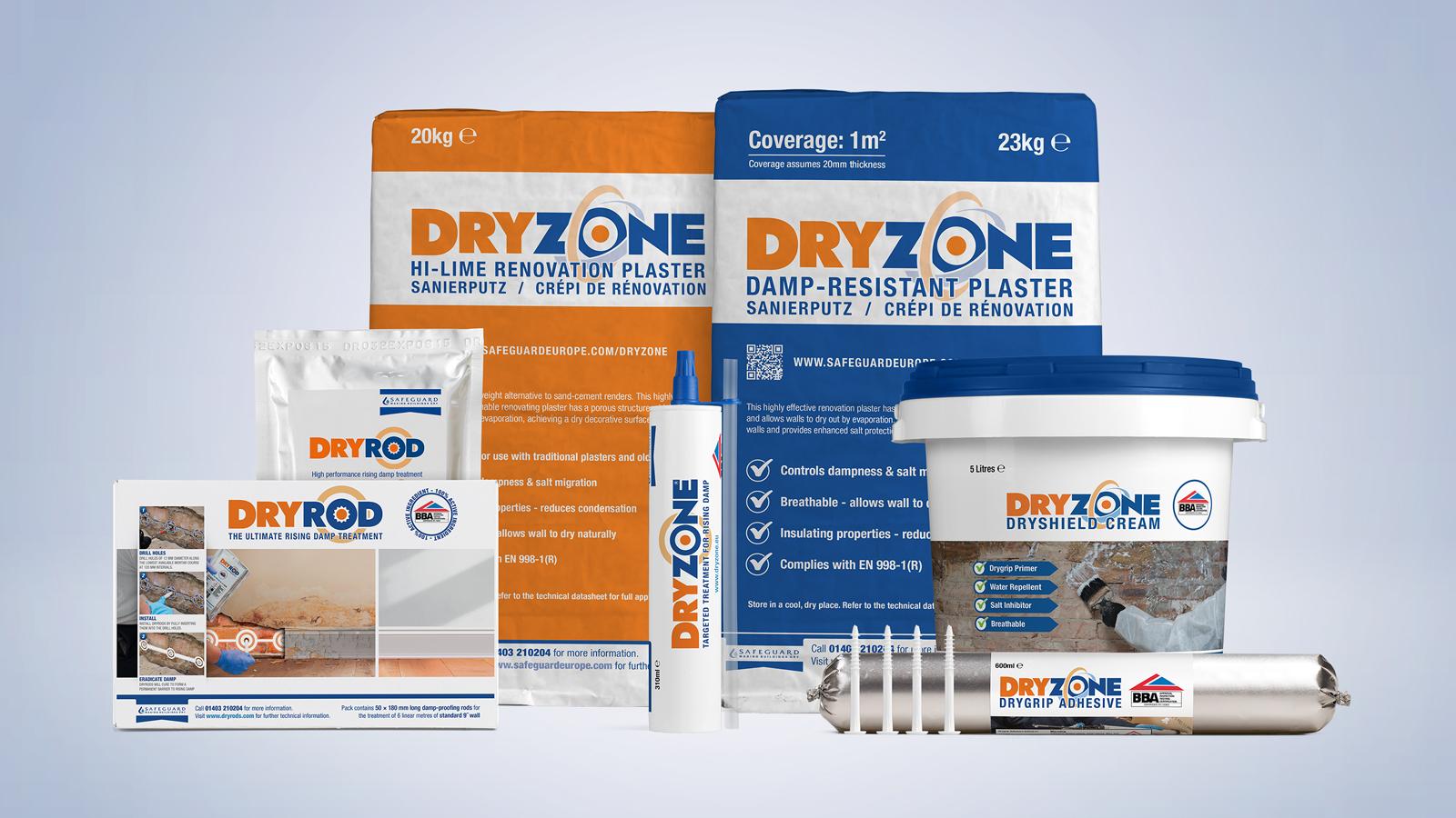 The Dryzone System Range