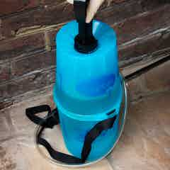 Attach the handle to the sprayer