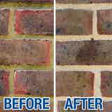 Before and after application of SoluGuard Multi-Surface Biocide