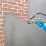 Applying Vandex BB75 with a spray applicator