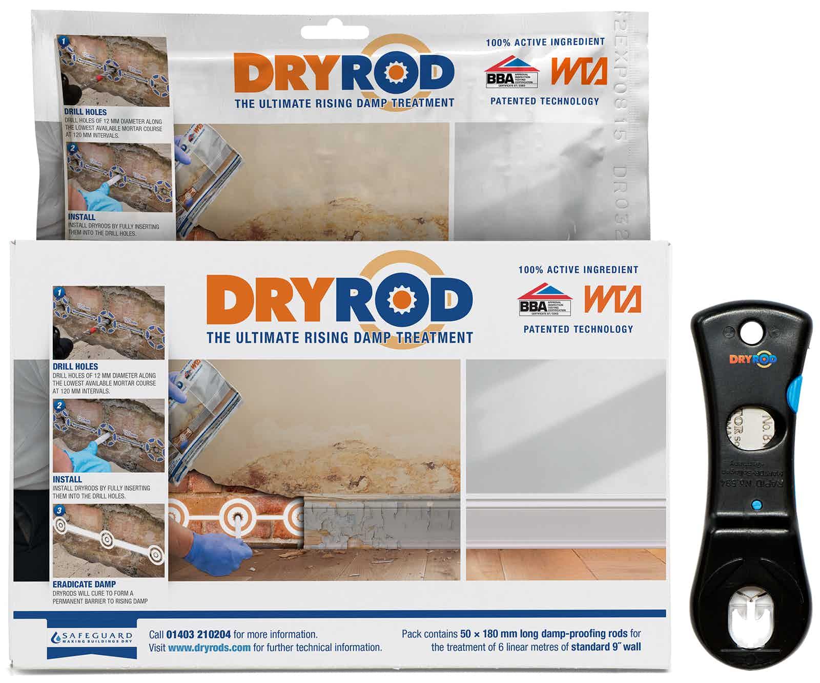 Dryrod Damp-Proofing Rods