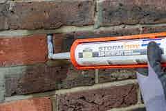 Flexible crack and mortar repair