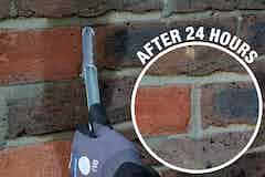 Stormdry XR Mortar sets fast