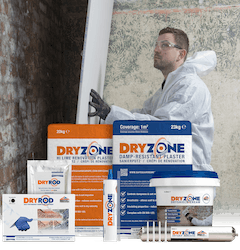 The Dryzone System - The complete rising damp renovation range