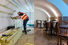 Changing uses of cellars and basements