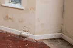 Problems caused by rising damp