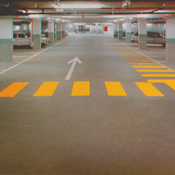 Underground Car Park waterproofed with Vandex products