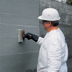 Concrete waterproofing (brush)