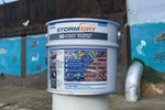 Stormdry AG-Coat protects walls from vandalism and graffiti
