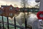 Botcherby Community Centre flooded