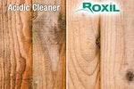 Roxil Wood & Patio Cleaners are soft washing and do not cause damage to the surfaces that they are applied to