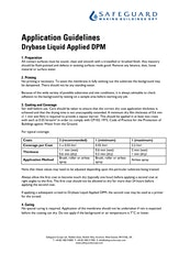 Drybase Liquid Applied Dpm Application Guidelines