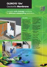 Oldroyd Gtx Geotextile Membrane Brochure