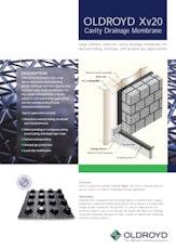 Oldroyd Xv 20 Cavity Drainage Membrane Brochure