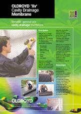Oldroyd Xv Cavity Drainage Membrane Brochure