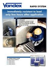 Vandex Rapid System Brochure