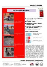 Vandex Super Dry Sprinkle
