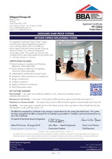 Dryzone Express Replastering System Bba Certificate