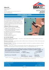 Oldroyd Xp Plaster Membrane Bba Certificate