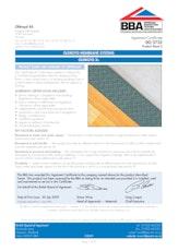 Oldroyd Xs Slimline Membrane Bba Certificate