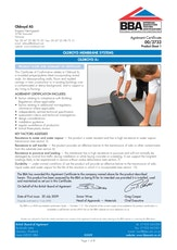 Oldroyd Xv Cavity Drainage Membrane Bba Certificate