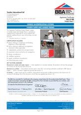 Vandex Super Bba Certificate