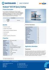 Drybase Ecs Cr Epoxy Coating Datasheet