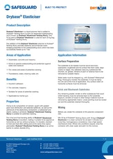Drybase Elasticiser Datasheet