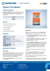 Drybase Flex Adhesive Datasheet