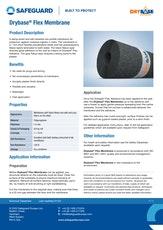Drybase Flex Membrane Datasheet