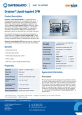 Drybase Liquid Applied Dpm Datasheet