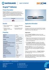 Drygrip Adhesive Datasheet
